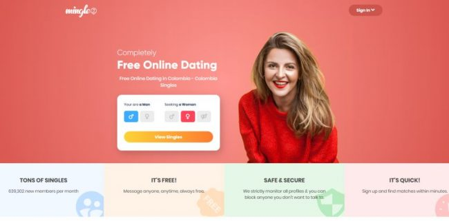 Mingle2 colombian dating